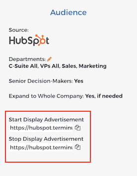 HubSpot_Audience_Webhook_URLs
